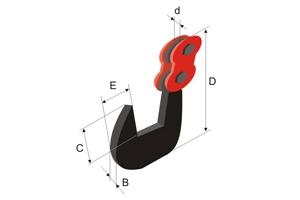 """Захват горизонтальный с увеличенным зевом для подъема одного или более листов типа """"Бульдог-7"""""""